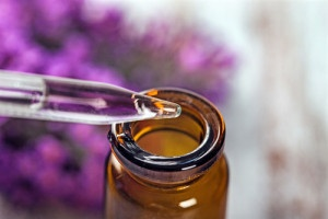 aromatherapie mit lavendel-oel