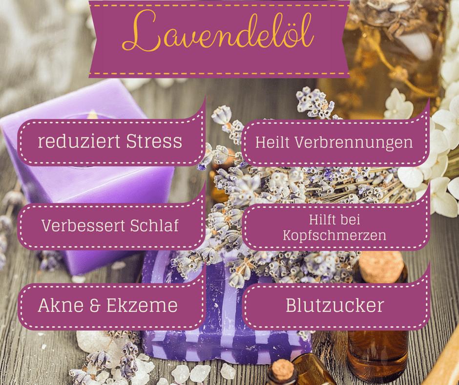 Lavendelöl Anwendungen