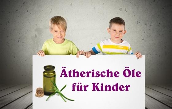 Kinder und ätherische Öle